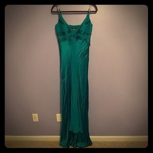 Adrianna Papell Boutique Emerald Green Gown Sz8